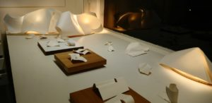 Fold-Unfold by Szilvia György, exhibition view